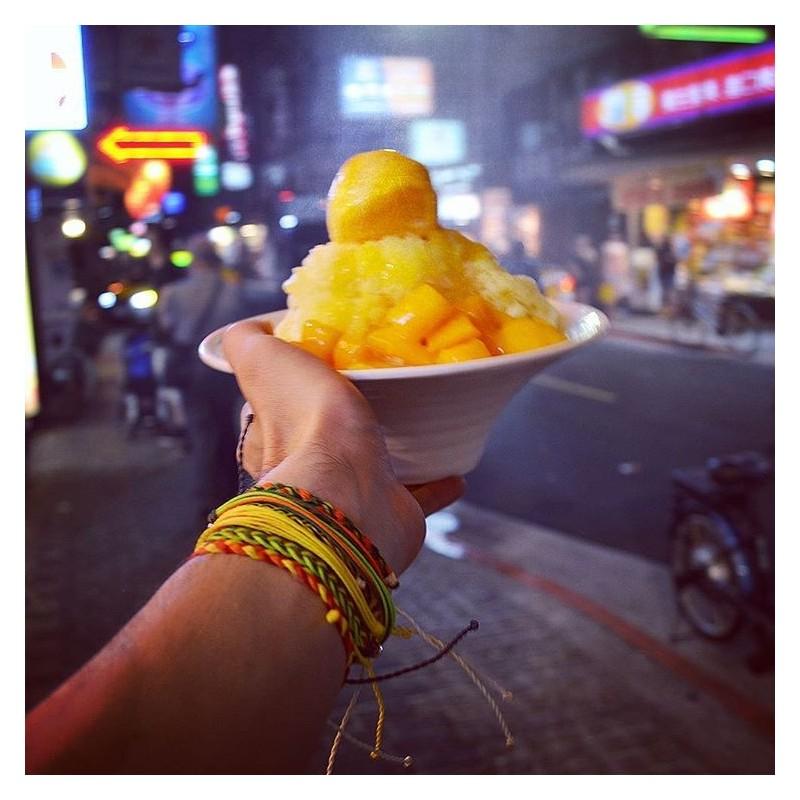 Yellow Sun - Perlen - Freundschaftsband