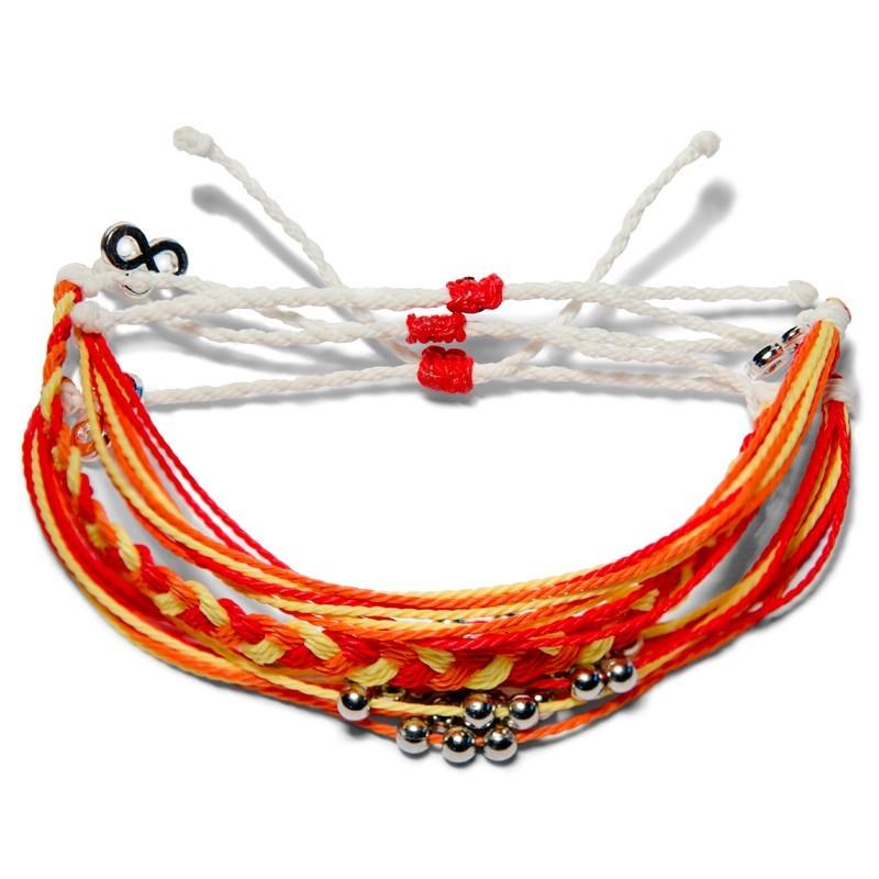 Yellow Sun - Geflochten - Freundschaftsband