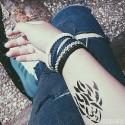 Schmetterlingskinder - Perlen - Freundschaftsband