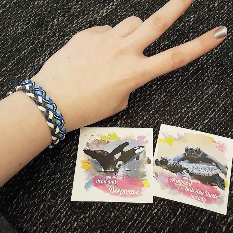 Pink Girl - ZickZack Perlenarmband