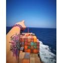 Red Dragon - Perlen - Freundschaftsband