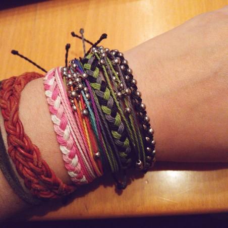 Navy Blue - Geflochten
