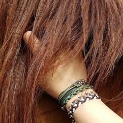 Pink Girl - Geflochten - Freundschaftsband