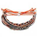 Deep Purple - Set - Freundschaftsarmbänder