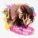 Rettet die Wale - Geflochtenes Freundschaftsband für Wale