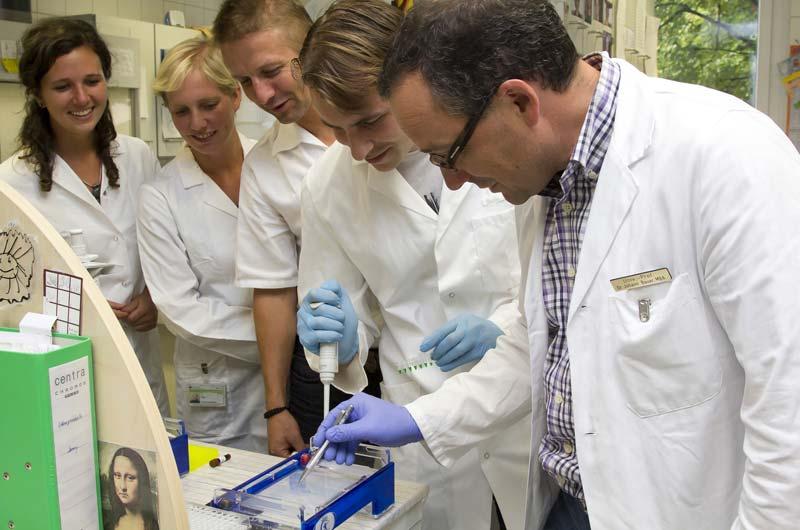 Erste positive Ergebnisse in der EB-Forschung stimmen zuversichtlich (c) Hametner