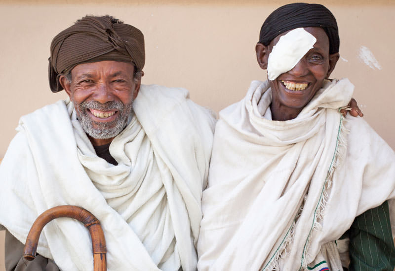Durch Augenoperationen wird Menschen in Afrika, Asien und Lateinamerika das Augenlicht zurück gegeben (c) EIGNER